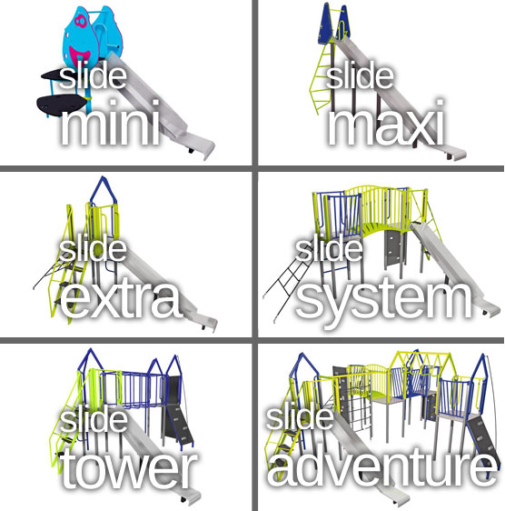 playground slide designs