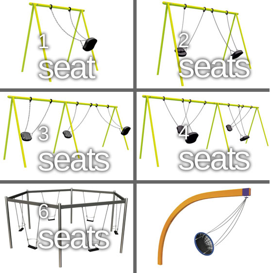 playground swing designs